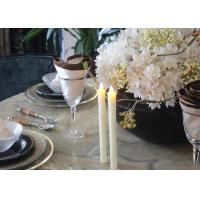 Wholesale Fashionable Led Taper Candles , Flameless Taper Candles With Remote from china suppliers