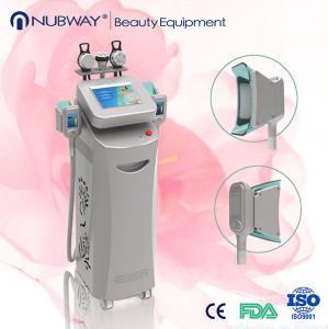 Buy cheap Beauty Salon Cryolipolysis Fat Freeze Slimming Machine / RF Cavitation Slimming Equipment from wholesalers