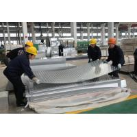 Wholesale Hot / Cold Rolled Aluminium Diamond Plate With High Weather Resistance from china suppliers
