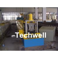 Wholesale PLC Frequency Control Steel Hat Channel Cold Roll Forming Machine With 0-15m/min Forming Speed from china suppliers