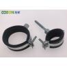 Fashion designer clamps galvanized plate pipe saddle clamp for sale