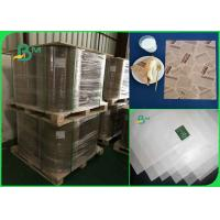 Wholesale MG / one side coated 32 35 40 grams good brightness white kraft paper in rolls from china suppliers