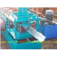 Wholesale Durable Seamless Gutter Machine , Water Gutter Making Equipment Former Line from china suppliers