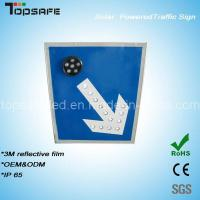 Wholesale Aluminum Flashing Solar LED Traffic Direction Pole/Post (TPS-S3) from china suppliers