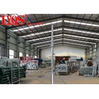 Wholesale Building Steel Shoring Posts , Heavy Duty Post Shores Temporary Support from china suppliers