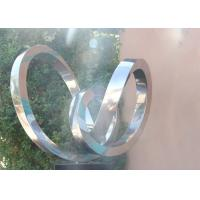 Wholesale Modern Abstract Polished Stainless Steel Outdoor Metal Sculptures from china suppliers