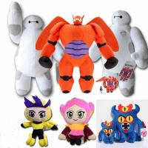 Big Hero 6 Baymax Cartoon Plush Toy