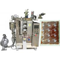 Wholesale Ketchup / Skin Lotion Automatic Pouch Packing Machine , Vertical Form Fill Seal Machine from china suppliers