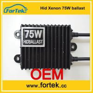 Wholesale OEM design auto hid xenon Ballast 75W from china suppliers