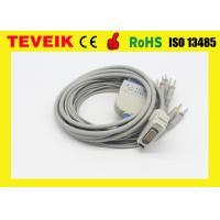 Buy cheap Fukuda Denshi Cardimax FX-2111 ECG/EKG Cable with 10 leadwire, DB 15pin from wholesalers