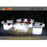 Wholesale 16 colors changeable LED Bar Tables / LED leisure table , Lighting cocktail table from china suppliers