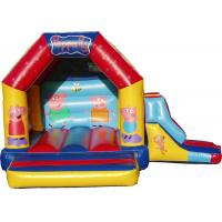 Wholesale Lovely Home Use Inflatable Combo Peppa Pig Bouncy Castle With Slide from china suppliers