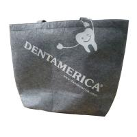 Wholesale Dentamerica Pret Fabric Carrier Bags, Printed Reusable Shopping Bag With Velcro Closure from china suppliers