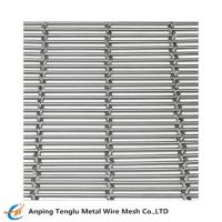 China Stainless Steel Cable Mesh Cable pitch: 80mm for sale
