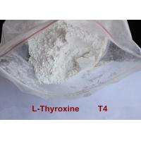 Wholesale High Purity Safe Weight Loss Drug Levothyroxine T4 Powder CAS 51-48-9 from china suppliers