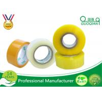 Wholesale 80M Length Clear Water Resistant Bopp Adhesive Tape High Temperature from china suppliers
