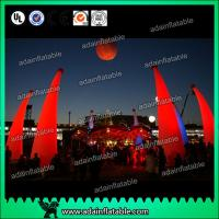 Wholesale New Design Holiday Events Decoration Inflatable Cone LED Lighting Inflatable Pillar from china suppliers