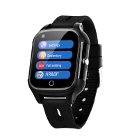 Wholesale Elderly People Android 4G SOS GPS simcard slot smart watch Anti lost fall down alert smart watch for elderly people from china suppliers