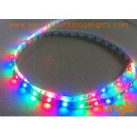 China Full Color RGB LED Strip Lights , SMD 3528 60D LED Flexible Tape Light For Family for sale
