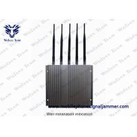Remote Controlled Cell Phone GPS Jammer Stable Jamming Range Up To 40m