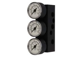Wholesale Siemens Gauge double acting aluminum (NPT) for SIPART PS2, scale in MPa, bar 6DR4004-2MN from china suppliers