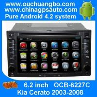 Wholesale Ouchuangbo Car DVD Kia Cerato 2003-2008 Sat Navi Radio Player SD Bluetooth Android 4.4 OS from china suppliers