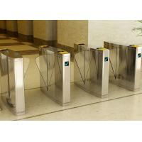 Wholesale Stainless Steel Flap Barrier Gate Turnstile, Half Height Turnstiles Access Control from china suppliers