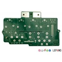 Buy cheap 12 OZ Double Sided Heavy Copper PCB Circuit Board With Lead Free HASL 0.8 Mm Aperture from wholesalers