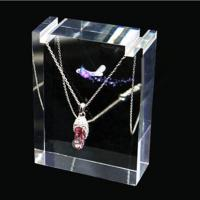 Wholesale Transparent Polishing Acrylic Necklace And Earring Display Stands For Jewelry Show from china suppliers