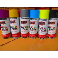 Aerosol Spray Paints , Yellow Color for sale