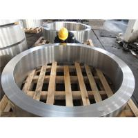 Wholesale DIN 34CrNiMo6 Hot Rolled  Forged Steel Rings Hardness 30HRC - 40HRC Customized , Round Steel Blanks from china suppliers