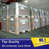 Wholesale 20 LPI lenticular sheet with flip lenticular effect for large size lenticular advertisment indoor and outdoor Printing from china suppliers