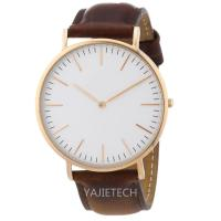 YJ793 branded famous pu LEATHER strap watch, hot sales ladies man watch for sale