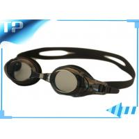 China Adult Water - proof Anti - Fog Prescription Swim Goggles Larger Frame on sale