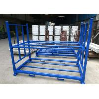 Wholesale Multi Tier Blue Color Industrial Storage Rack , Tyre Racking System Q235B Cold Steel Material from china suppliers