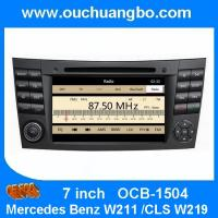 Wholesale Ouchuangbo Auto Radio DVD System for Mercedes Benz W211 /CLS W219 GPS Navigation iPod USB 3G Wifi BT  OCB-1504 from china suppliers