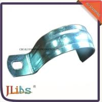 China No Screw ISO9001 Metal Tube Brackets Without Rubber , High Temperature Resistance on sale