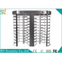 Wholesale Security Pedestian Full Height Turnstile With LED Count Display Function from china suppliers