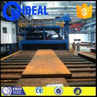 Buy cheap descaling or stripping use shot blasting machine pretreatment line for sale from wholesalers
