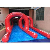 Wholesale Customized Amazing Giant / Big Inflatable Slides Inflatable Pirate Ship Double Slide from china suppliers
