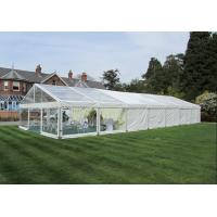 10m X 21m Outdoor Party Tents Aluminium Frame With Transparent Roof / PVC Roof