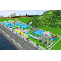 Wholesale PVC Material Customized Inflatable Products / Water Park Games For Outdoor from china suppliers