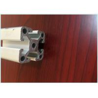 Industrial Slot Structural Aluminum Profiles Silver Anodizing 45 X 45 X 1.9mm for sale