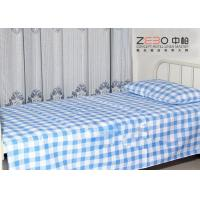 Buy cheap Easy Clean Hospital Bed Sheet Striped Fitted Bed Sheets OEM / ODM from wholesalers