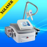 China Newest 5 handles cyrolipolysis vacuum slimming ultrasonic machine with cavitation rf on sale