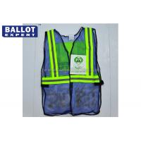 Wholesale Highways Reflective Safety Vest Yellow / Orange / Green Optional With Strip from china suppliers