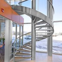 Wholesale Modern Outdoor Steel Staircase Design Galvanized Spiral Staircase from china suppliers