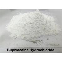 Local Anesthetic Bupivacaine Hydrochloride Powder , Levobupivacaine Hydrochloride Powder CAS 14252-80-3 for sale