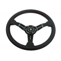 Wholesale Flexible Race Car Steering Wheel / Removable Steering WheelWith Non - Slip Rubber from china suppliers