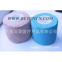 Wholesale Tear By Hand Color Self - adherent Cotton Elastic Bandage To Wrap Body Parts from china suppliers
